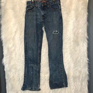 Arizona bootcut boys jeans size 18